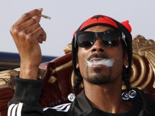 Snoop Dogg has never tried to hide his smoking